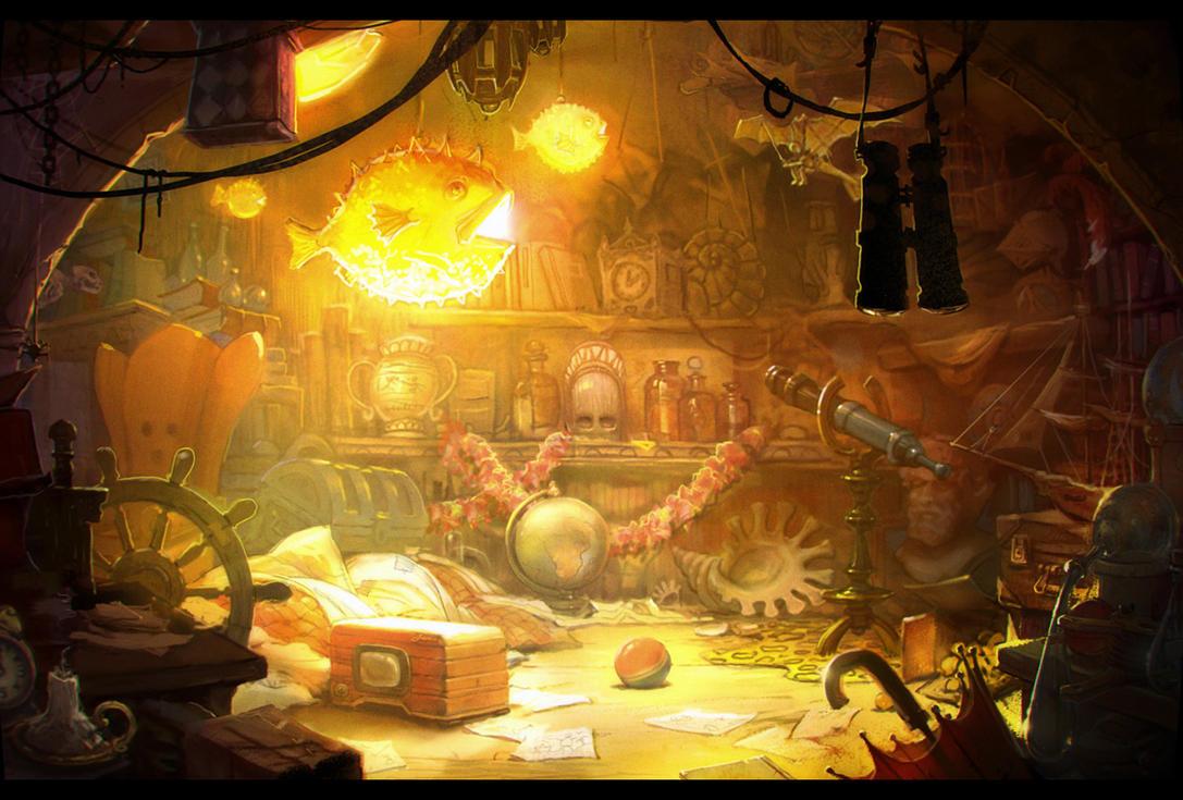 Little adventurer's treasure room by TulinovR