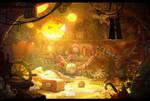 Little adventurer's treasure room