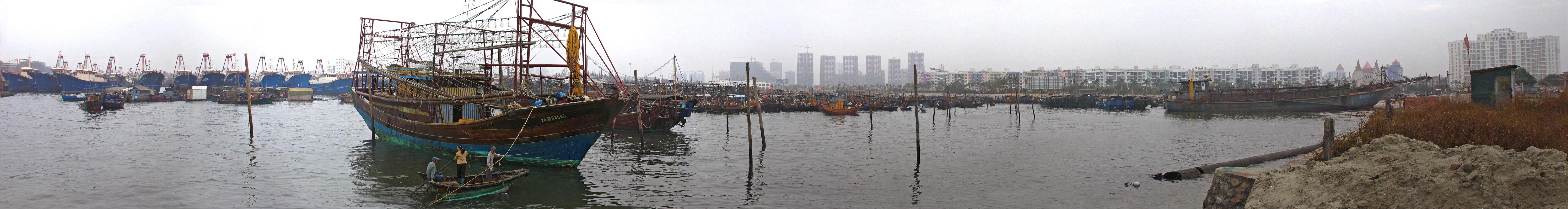 Beihai harbour by TulinovR