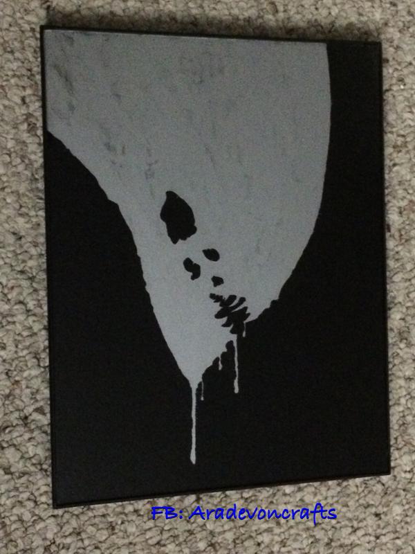 Alien glass painting by aradevon