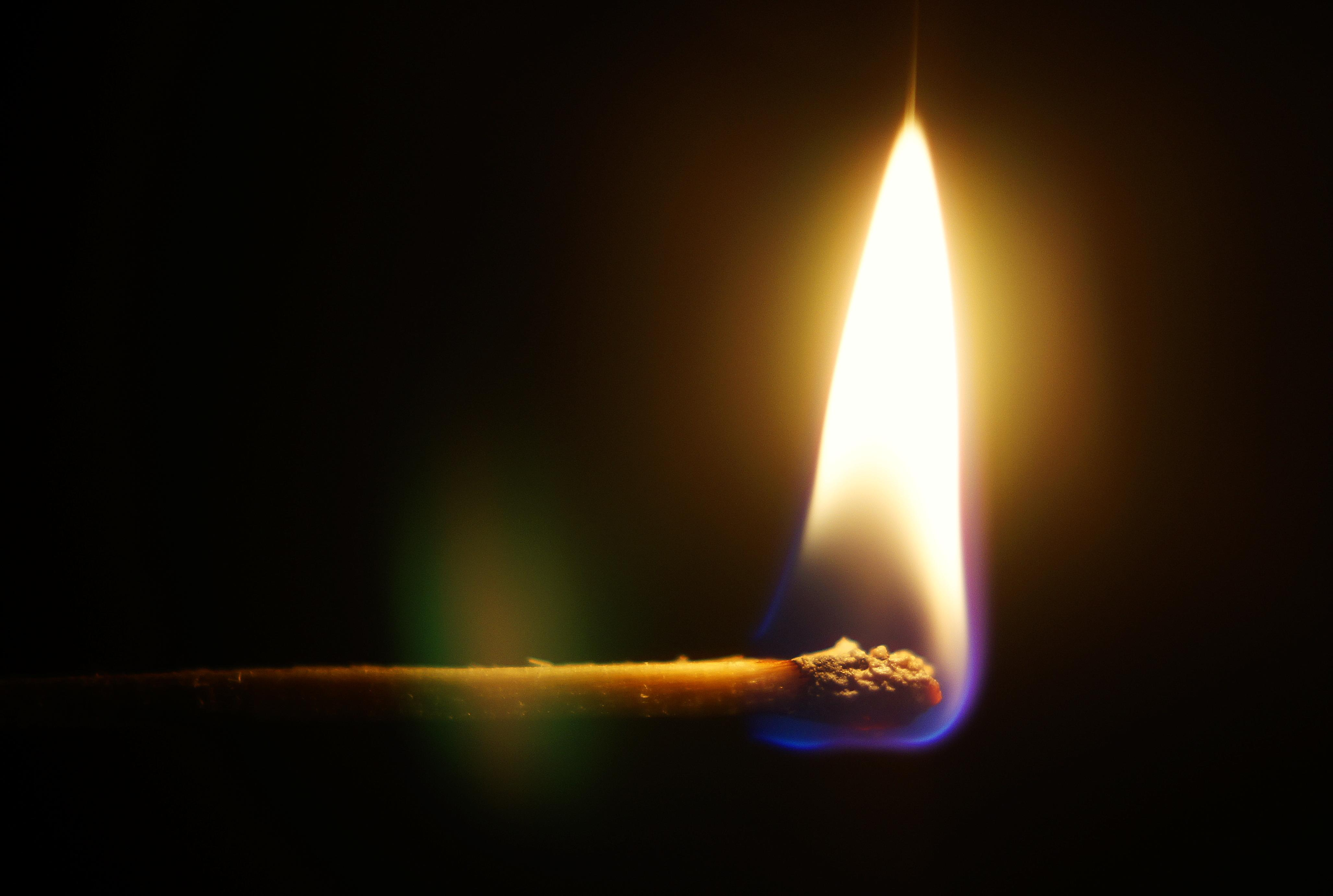 burning match by DoWhoRanZone