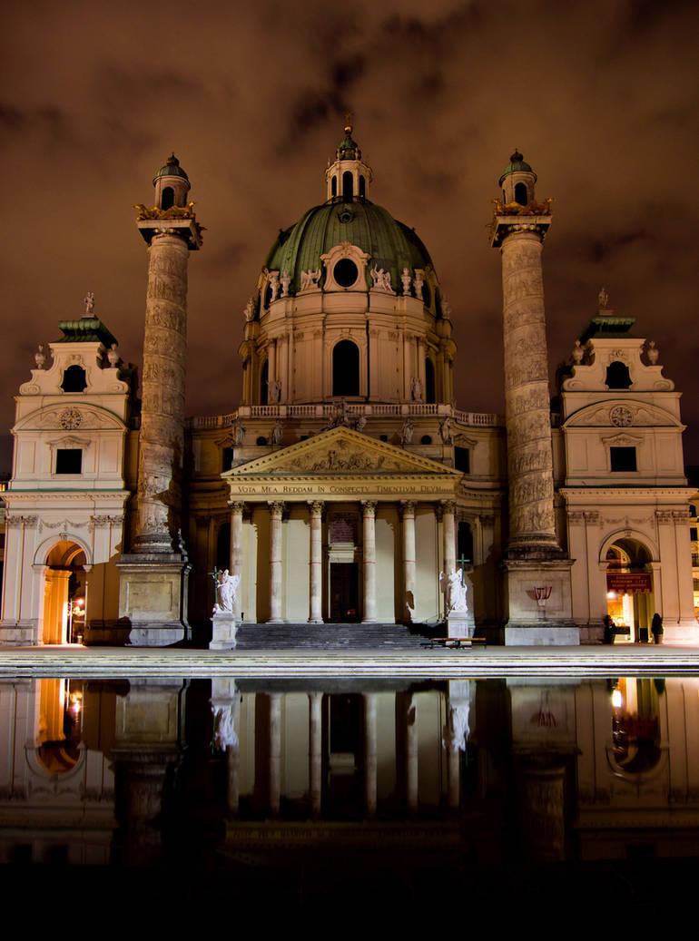 midnight church by DoWhoRanZone