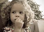 Curly Little Girl