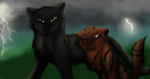 Pantherstar and Hawktail