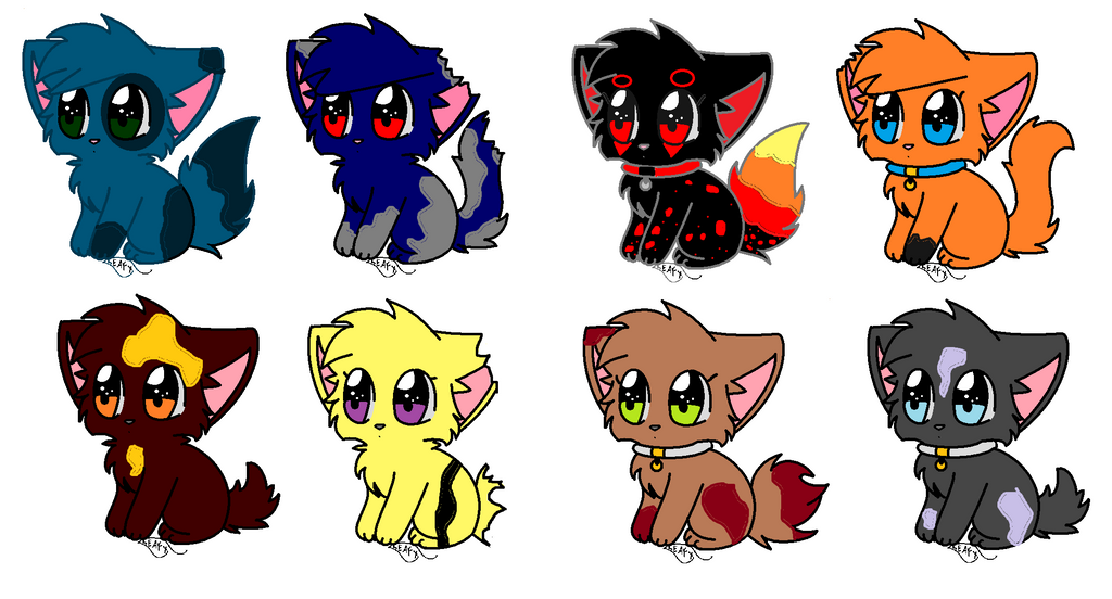 My Warrior Cats Clan (TOP 8 CATS)