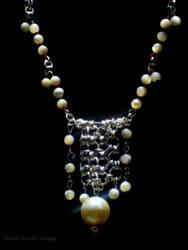 Chandelier Necklace by Klarenden