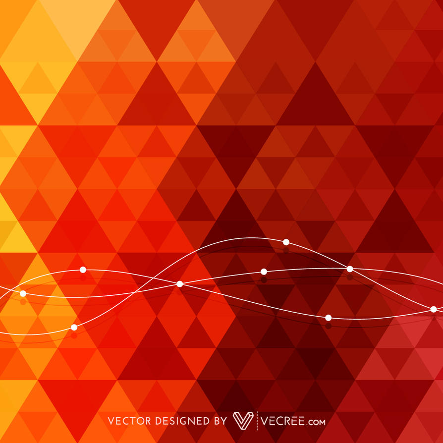 Triangle Background Free Vector by vecree on DeviantArt