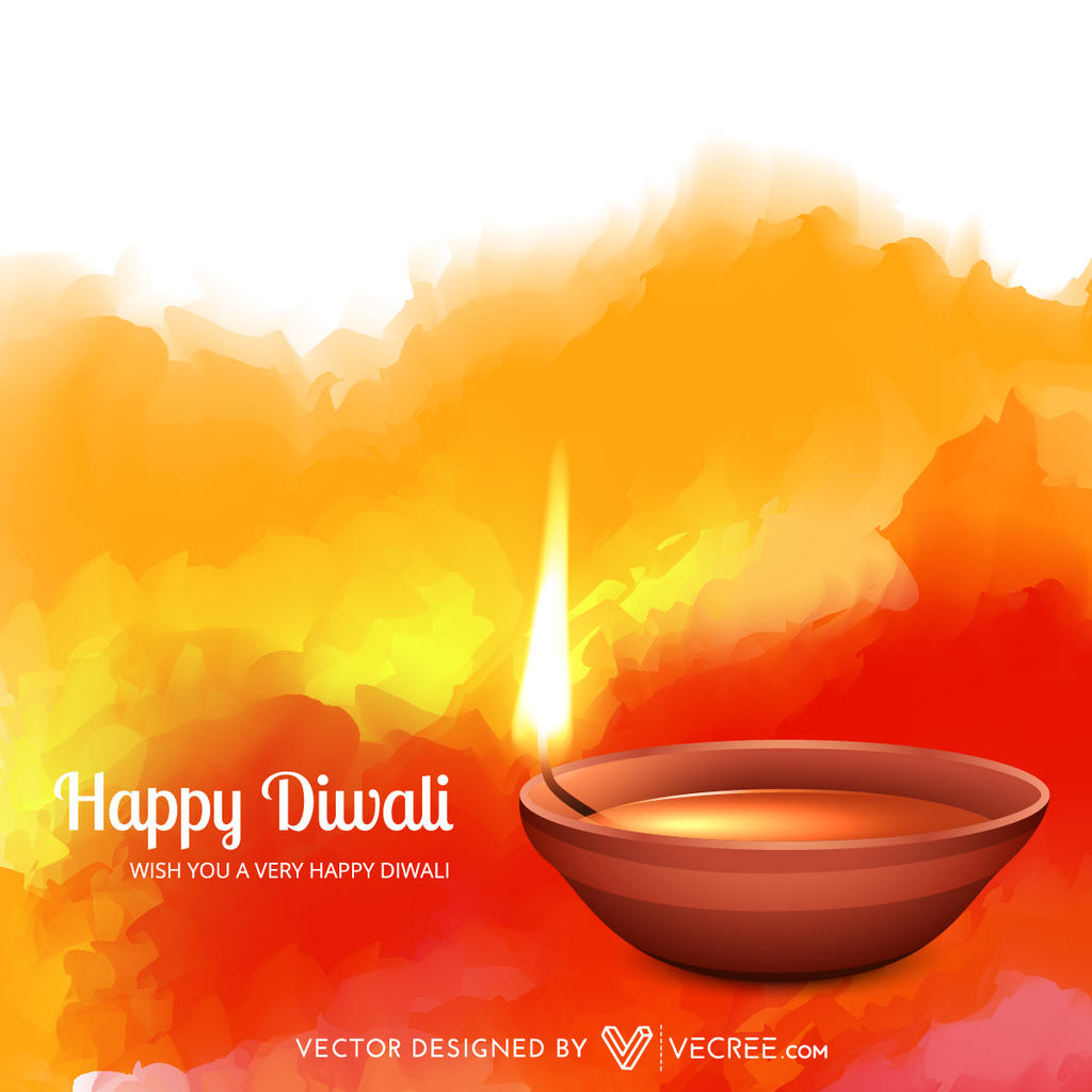 Diwali Wallpaper: Beautiful Diwali Free Wallpaper Vector By Vecree On DeviantArt