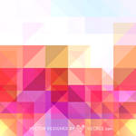 Colorful Pattern Design Free Vector by vecree