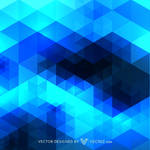 Blue Pattern Design Free Vector by vecree