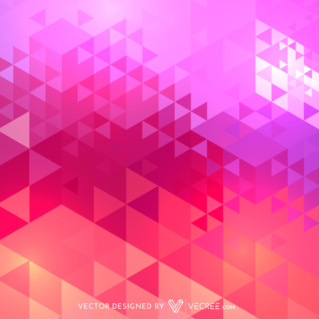 Triangle Pattern Free Vector by vecree on DeviantArt