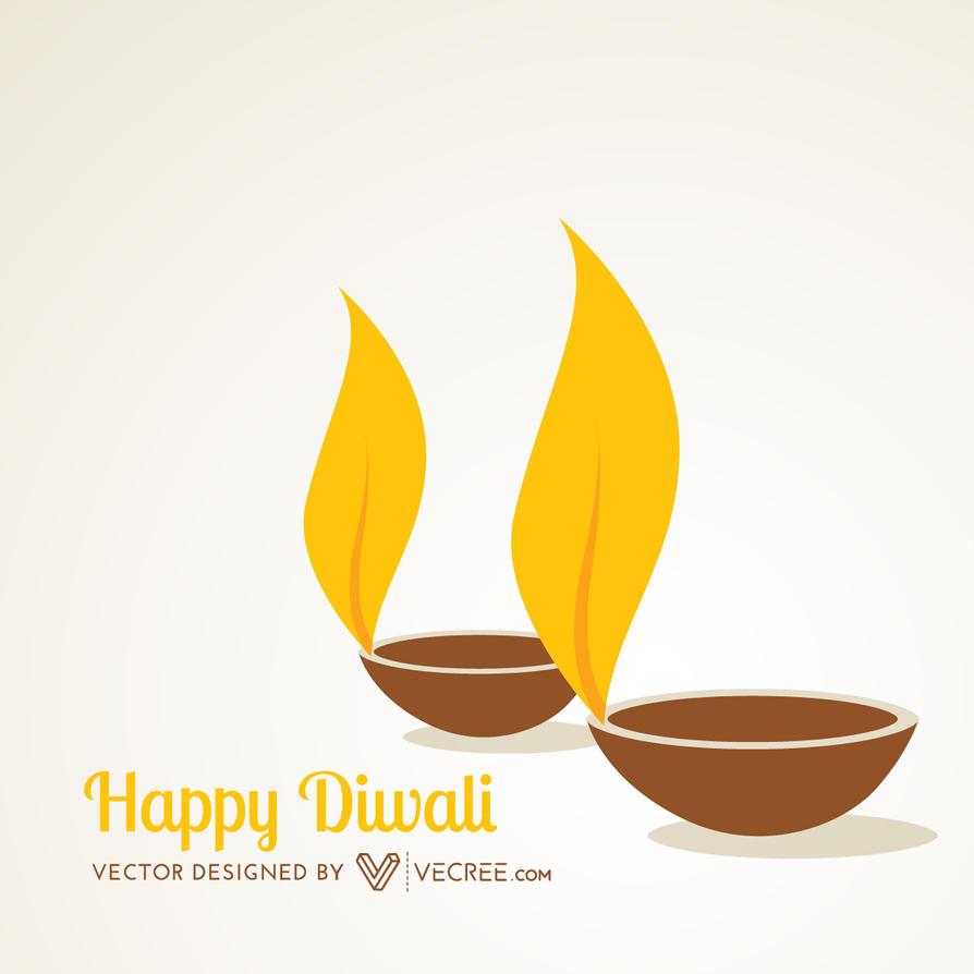 Deepawali Diya Free Vector By Vecree On Deviantart