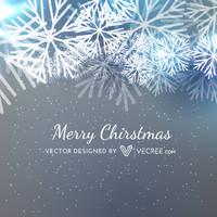 Merry Christmas Seasonal Greeting Free Vector by vecree