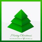 Xmas Tree Design Free Vector
