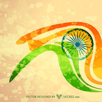 Indian Flag Illustration Free Vector by vecree