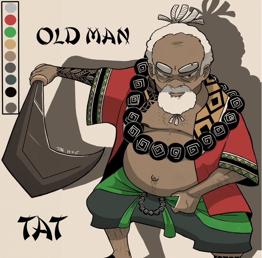 Old Man TAT by BeDaTosster