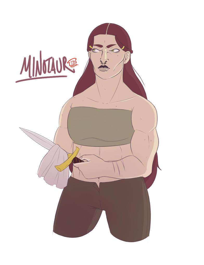 Minotaur by BeDaTosster