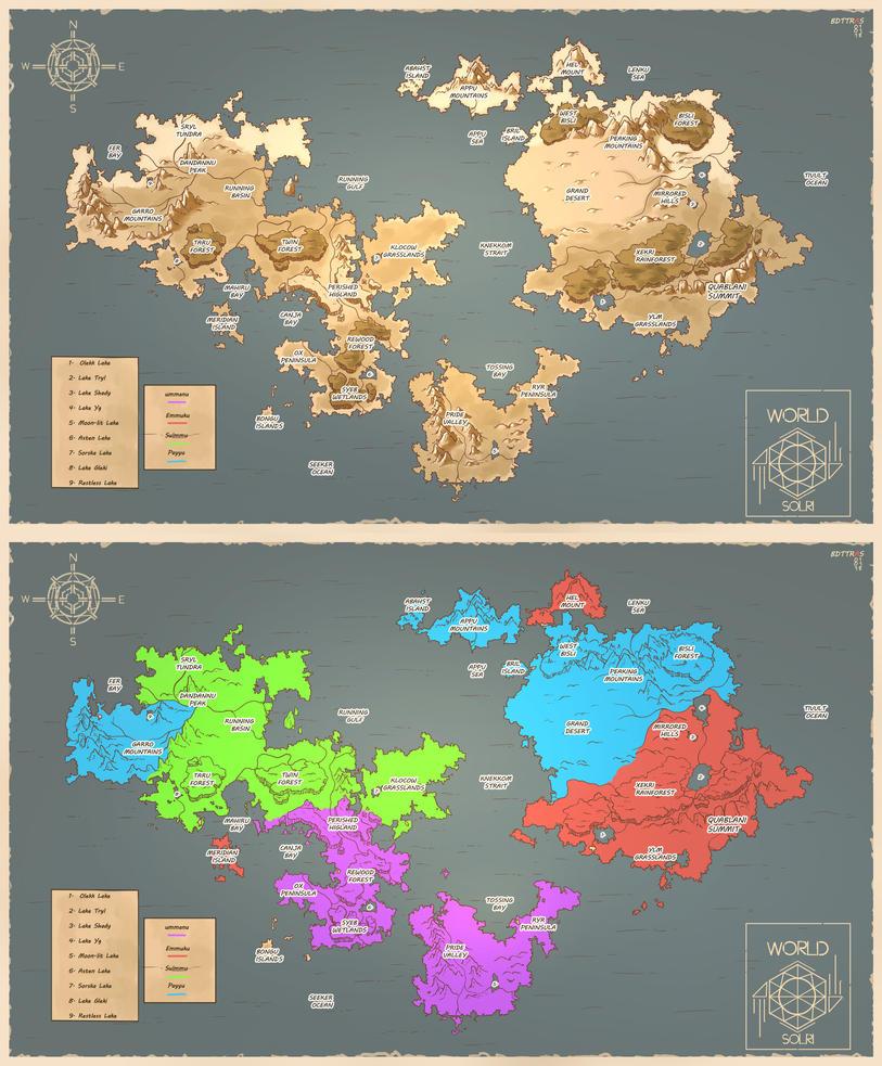 Black Marks World Map By BDTTras On DeviantArt - Marks lake maps