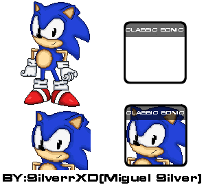 Roster ssf2 classic sonic by SilverrXD on DeviantArt