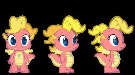 Cassie (My Little Pony: FIM Style Turnaround) by GamerSpax