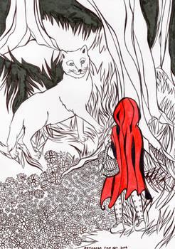 Caperucita y el lobo 2