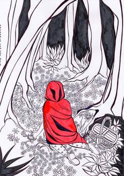 Caperucita en el bosque