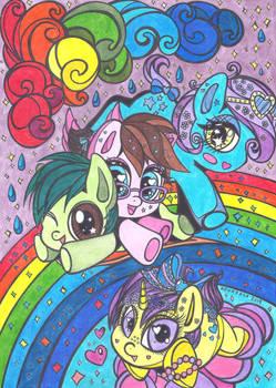 Arcoiris pony