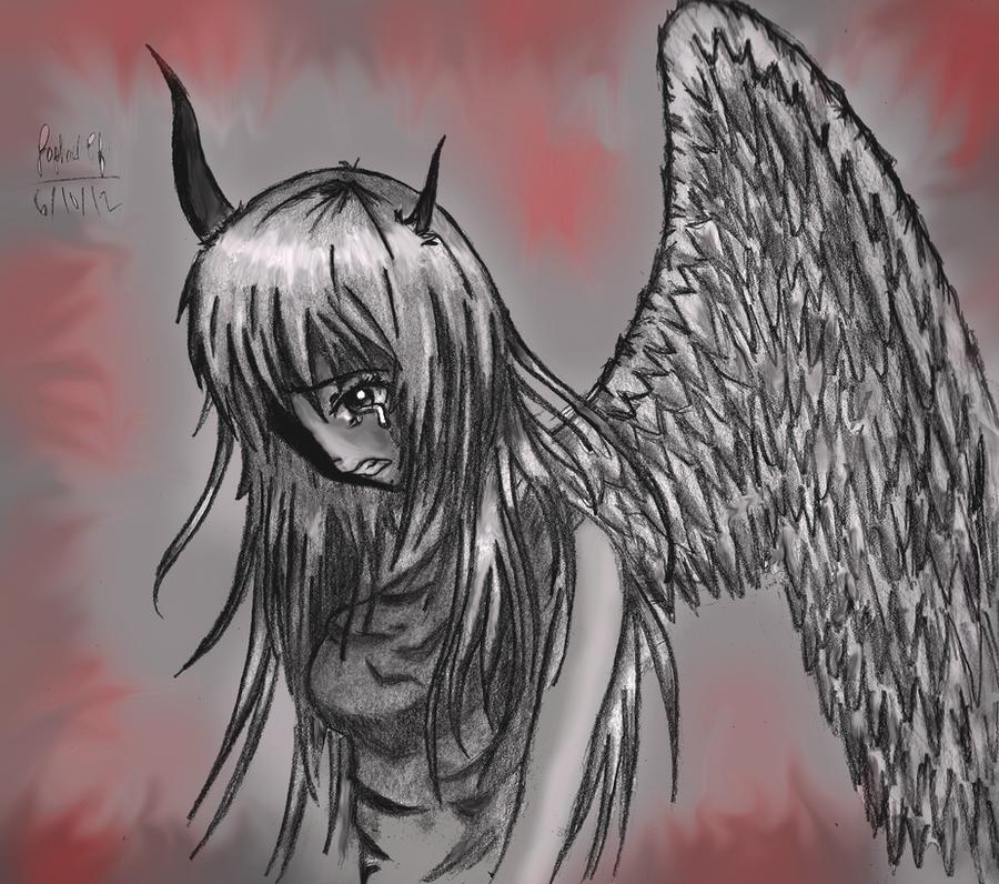 Fallen Angel's Anguish By Rapperfree On DeviantArt
