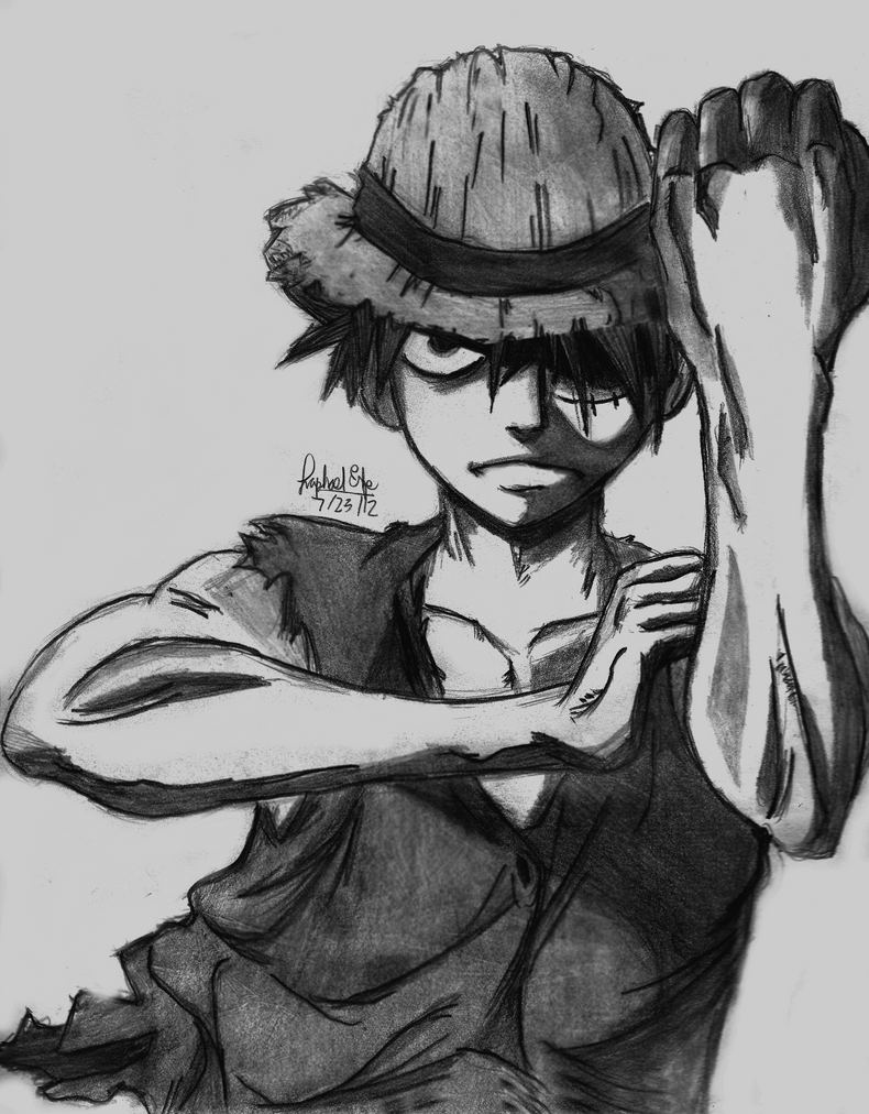 Monkey D. Luffy- One Piece by rapperfree on DeviantArt