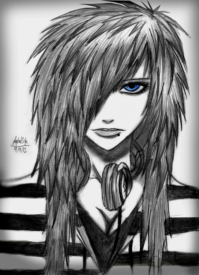 Coloring pages emo - Anime Emo Hd Wallpapers And Pictures