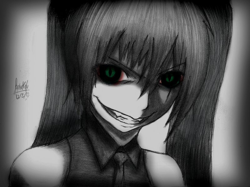 Hatsune Miku- Creepy Vampire Version By Rapperfree On