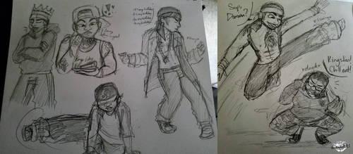 Birthday Boy (sketches)