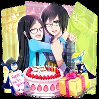 Happy Birthday by DindaNda