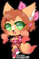 |G| Delicious Fox by DindaNda