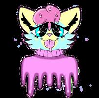 Gooey kitty