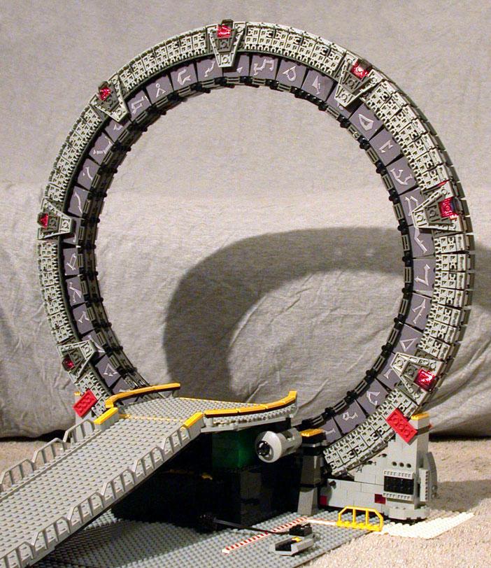 LEGO Stargate by Binkmeister