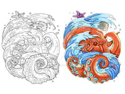 Wave Octopus