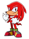 Classic Knuckles (Knovember Chaotix)