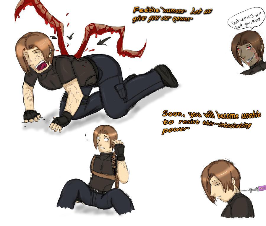 Resident Evil Damnation Las Plagas Leon by Peazil on DeviantArt