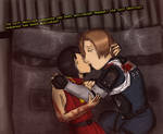 One more Kiss - RE2: Leon B