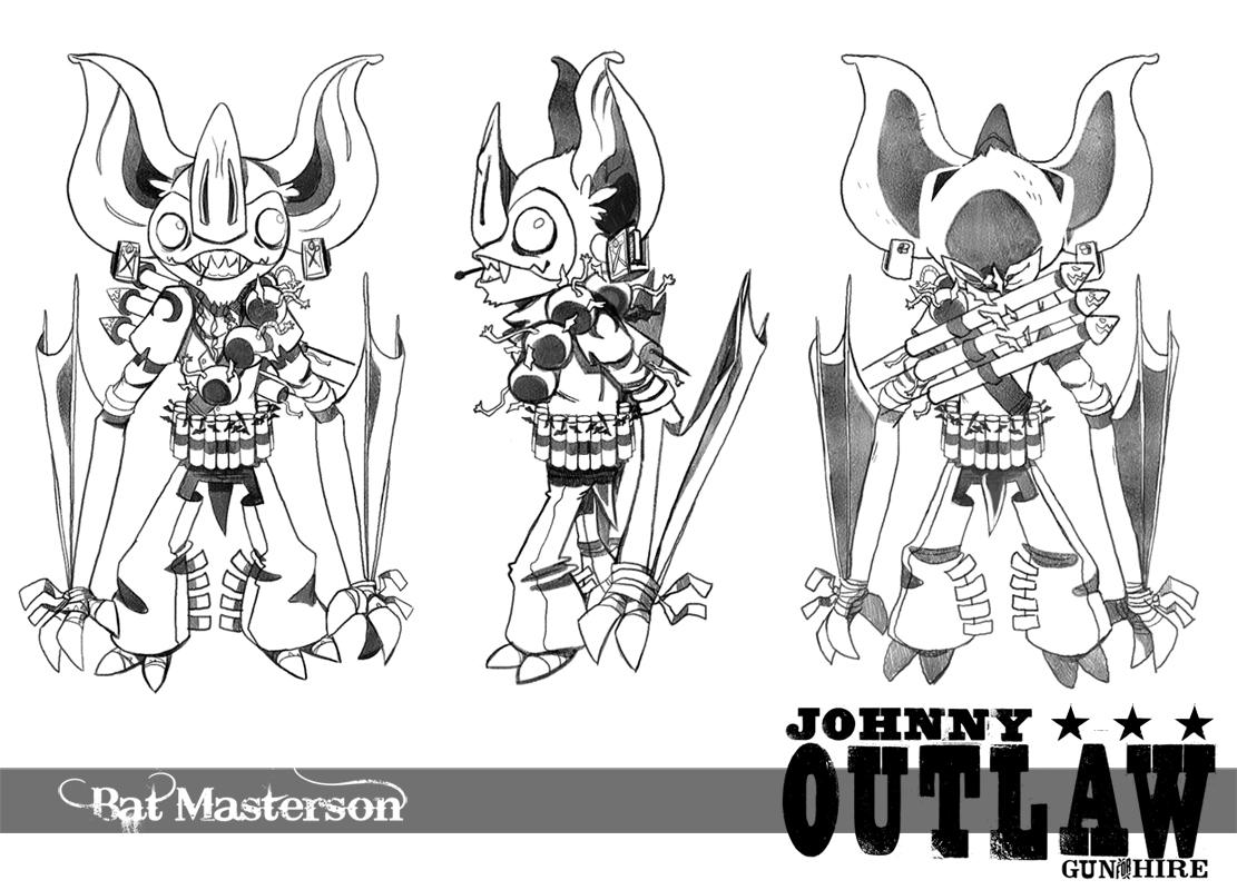 Bat Masterson by SoulKarl