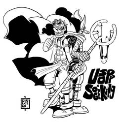 Usopp x Sogeking by SoulKarl