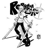 Roronoa Zoro by SoulKarl
