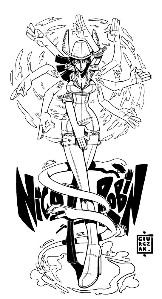 Nico Robin by SoulKarl