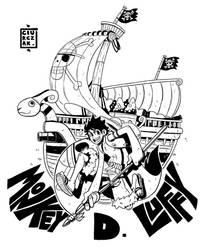Monkey D Luffy by SoulKarl
