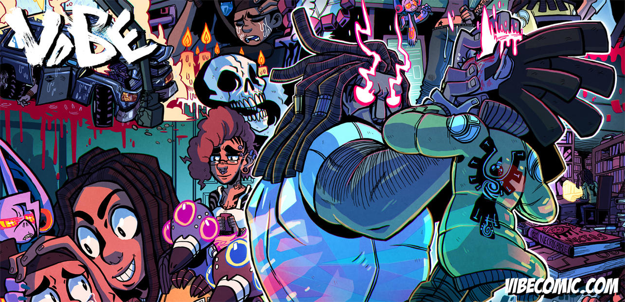 VIBE 80 and 81 spread is up!! by SoulKarl