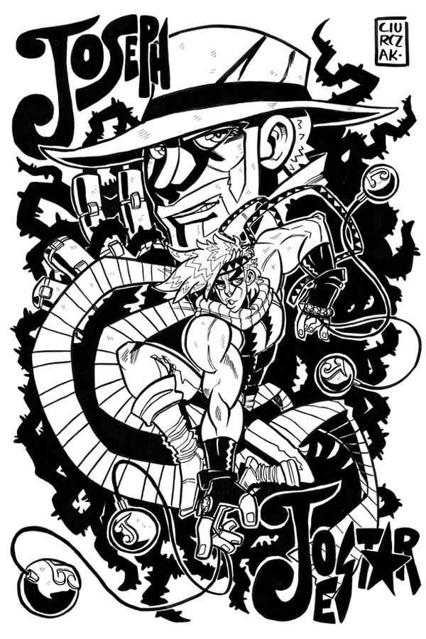 Joseph Joestar by SoulKarl