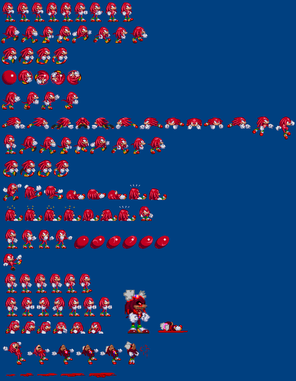 Knuckles Version 2 (Sonic exe) by WarchieUnited on DeviantArt