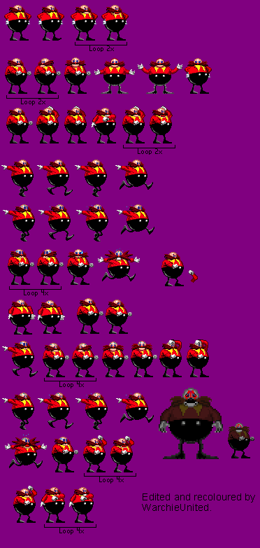 Dr  Robotnik Version 3 (Sonic exe) by WarchieUnited on DeviantArt