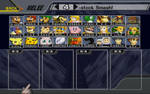 SSBM Character Roster HD (My Take)